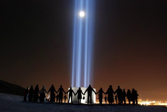 Foto: Facebook Imagine Peace Tower